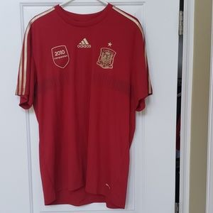 adidas Men's Spain Home Replica Tee Size XL